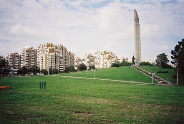 Obelisk Minsk – Mesto hrdina.