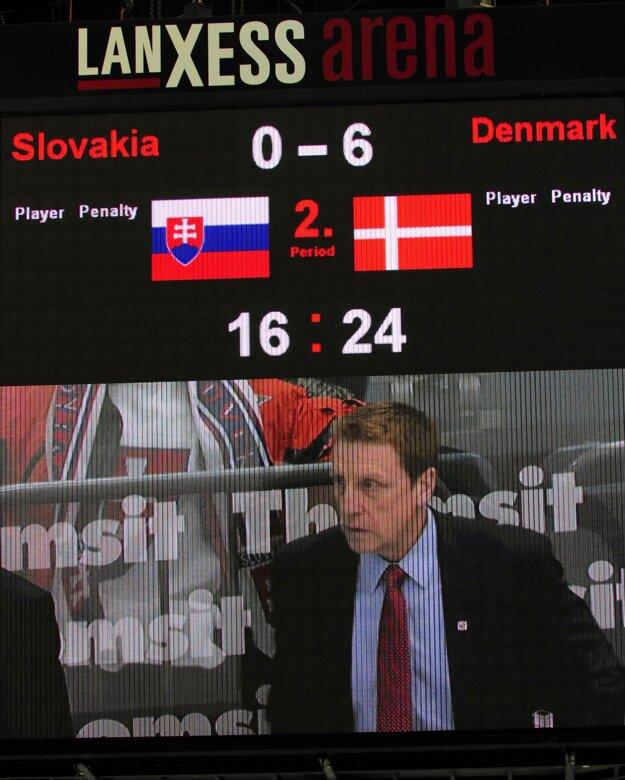 Pamätný výsledok pre obe krajiny. Pre Slovensko veľmi negatívny, Dáni oslavovali.