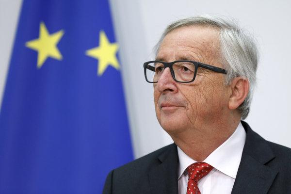 Predseda Európskej komisie (EK) Jean-Claude Juncker.