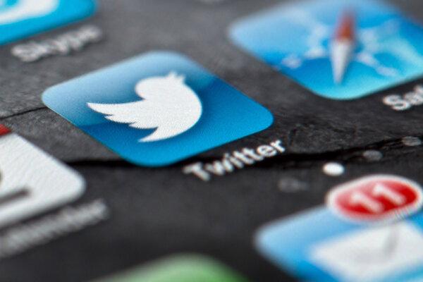 Logo sociálnej siete Twitter.