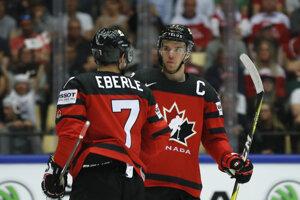 Hokejisti Kanady zdolali Dánsko 7:1.