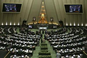 Iránsky parlament.