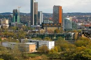 Litovský Vilnius je dnes moderné mesto.
