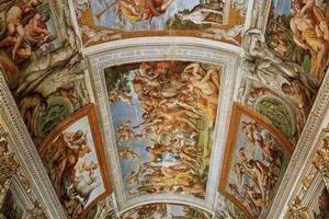 Strop Palazzo Farnese.