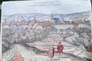 Výhľad, ktorý má patriť všetkým. Dobová fotografia ukazuje, ako sa v 17. storočí mešťania pozerali na centrum.