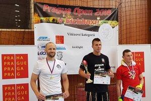 Víťazný Michal Stričík (v strede).