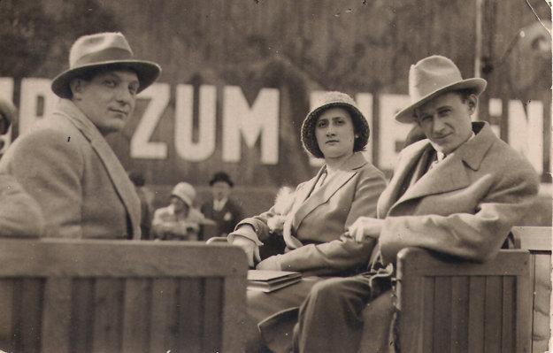 Jozefovi rodičia pred vojnou