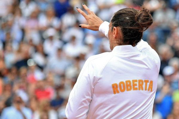 Roberta Vinciová sa rozlúčila s kariérou.
