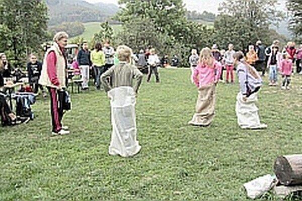 Na hrade v Košeci boli pre deti pripravené aj rôzne akcie.
