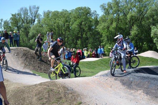 Nový bike park v Kežmarku