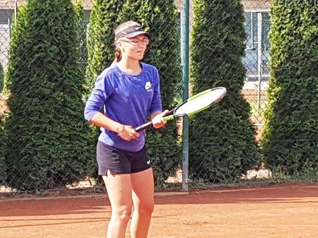 Staršia žiačka Nelly Vighová bola úspešná na šampionáte dorasteniek.