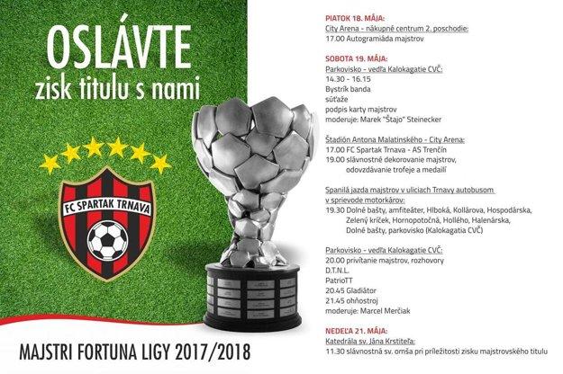 Majstrovský program osláv klubu.