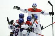 Gólová radosť hokejistov Česka.