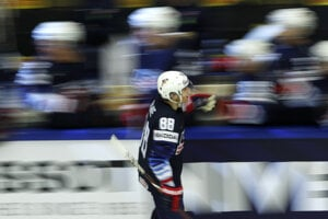 Gólová radosť hokejistov USA.