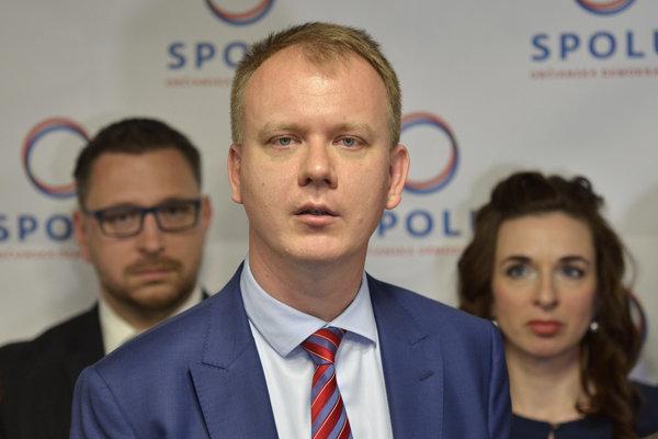 Miroslav Beblavý a ďalší členovia strany Spolu - občianska demokracia.
