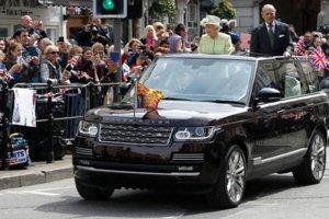 V roku 2015 dostala kráľovná svoj zatiaľ posledný špeciálne upravený Range Rover.