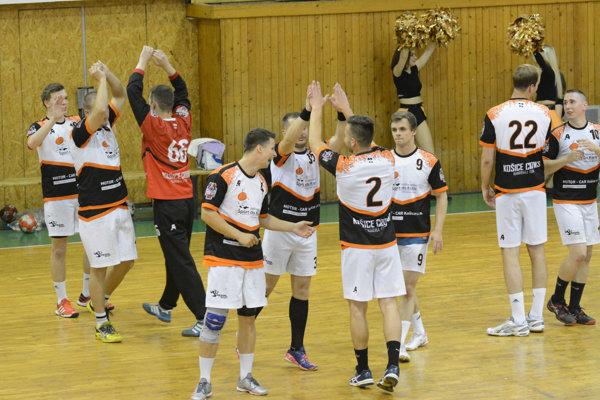 Úvodný zápas baráže Košičania zvládli.