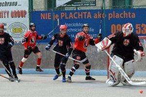O hokejbalovom majstrovi sa rozhodne v piatom zápase.