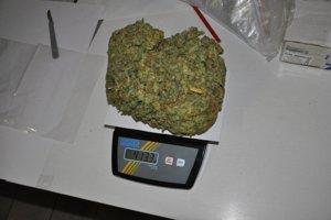 Mladík si marihuanu zaobstaral na Morave.
