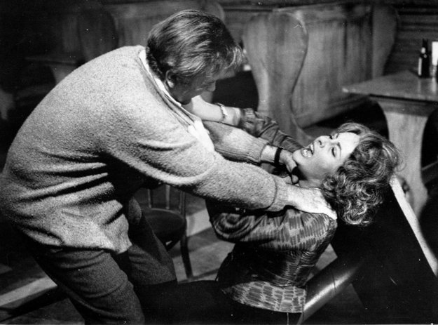 Richard Burton a Elizabeth Taylor vo filme Kto sa bojí Virginie Woolfovej?