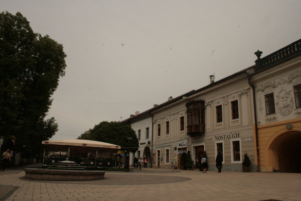 Spišská Nová Ves centrum mesta