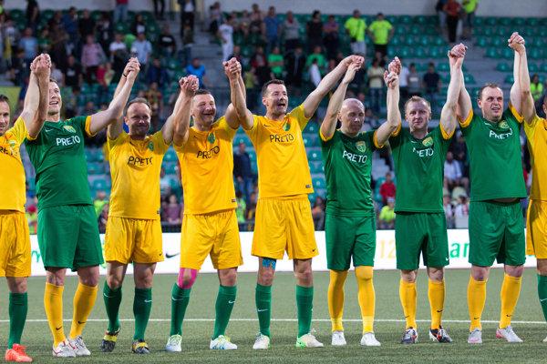 Pod Dubňom sa stretli držitelia všetkých siedmich ligových titulov.