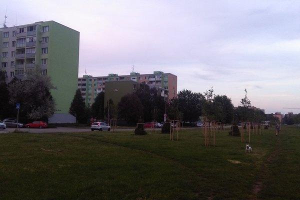 Zelený pás už mesto kúpilo.