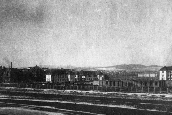 Areál štátnej nemocnice v Košiciach.