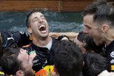 Ricciardo využil pole position na triumf v Monaku