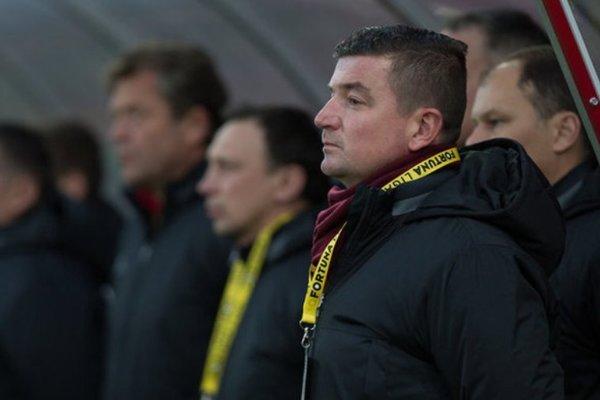 Tréner železiarov Marek Fabuľa môže po sezóne hýriť spokojnosťou.