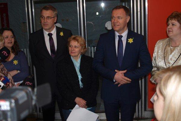 V Žiline bol osobne minister zdravotníctva Viliam Čislák.