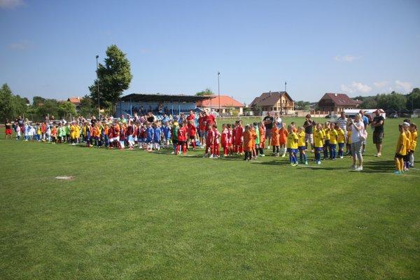 Deti zo šestnástich tímov mali parádnu sobotu.
