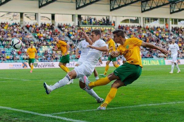 Matej Jelič strelil prvý gól MŠK.