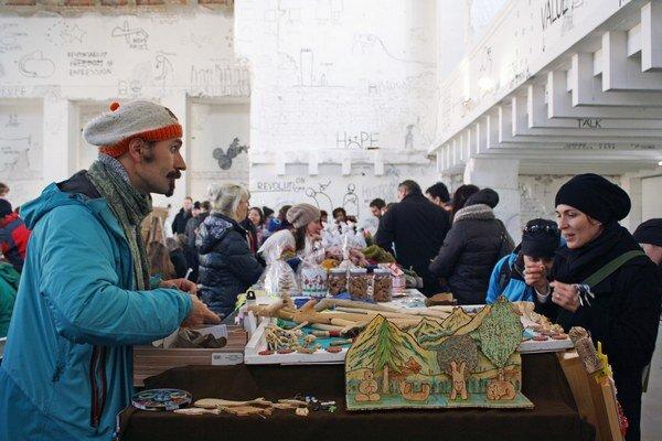 Malý vianočný trh bol poslednou tohtoročnou akciou.