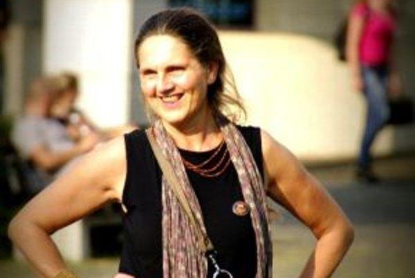Soňa Holúbková. Stala sa Slovenkou roka v kategórii Charita.