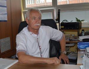 Riaditeľ školy Viktor Baláž.