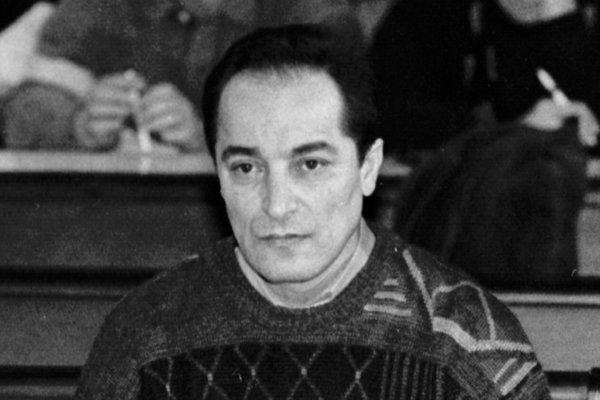 Ondrej Rigo, ktorého odsúdili na doživotný trest odňatia slobody 7. decembra 1994.
