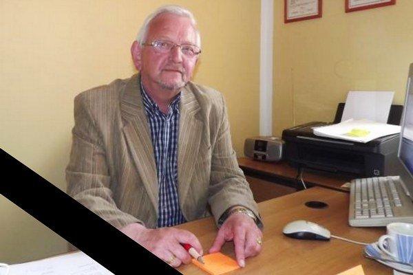 Zosnulý starosta Rudolf Martinka.