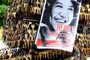 Brutálna smrť Filipínca Henryho Acordu otriasla celou verejnosťou.