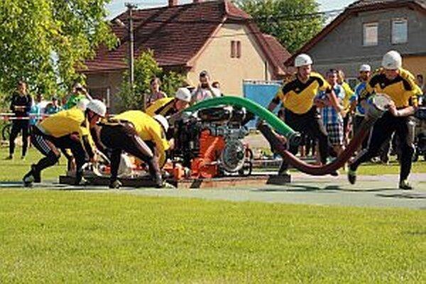 Družstvo Podhoria opäť ukázalo kvalitnú prípravu.