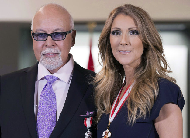 Celine Dion a jej manžel Rene Angelil