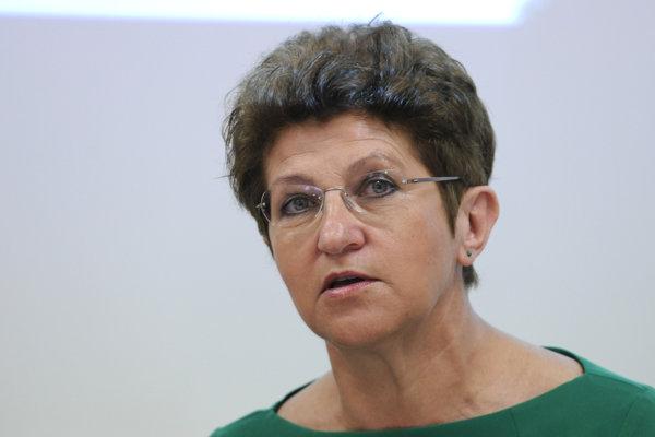 Generálna riaditeľka Slovenskej asociácie poisťovní Jozefína Žáková.