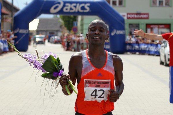 Elias Kiptum Maindi - víťaz 31. ročníka Rajeckého maratónu.