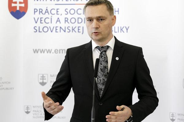 Generálny riaditeľ Národného inšpektorátu práce Karol Habina.