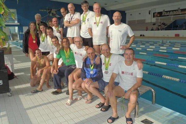 Plavci PSK Žilina sa tešia z mnohých úspechov.