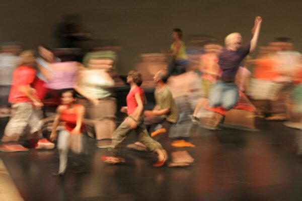 Tanečné predstavenie.