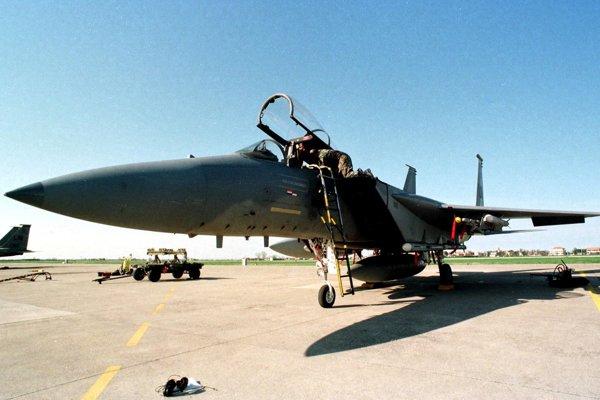 Stíhačka F15.