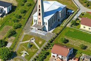 Kostol zasvätený Cyrilovi aMetodovi.
