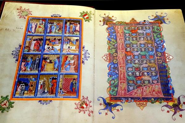 Snímka z Rakúskej národnej knižnice