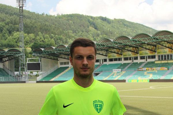 Giorgi Tevzadze je prvou letnou posilou žilinského klubu.